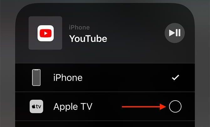 Écran externe AirPlay