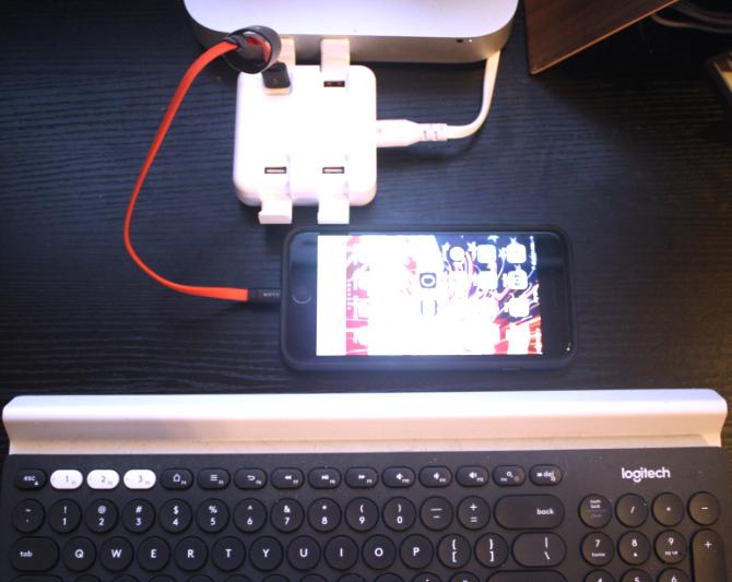 Chuwi Hi-Dock Desktop-Ladegerät Bewertung (und Werbegeschenk) Chwui Dock aufladen ci-dessus