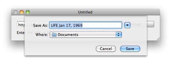 Laden Sie Google Books als PDF auf den Mac herunter