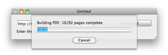 Google Books im PDF-Mac herunterladen