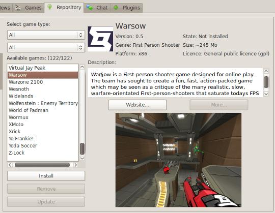 3 Tools zum Erkennen und Installieren von Awesome Linux Games djl