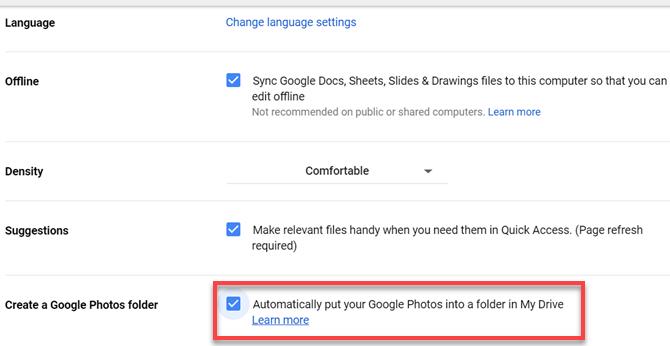 Erstellen Sie einen Google Fotos-Ordner