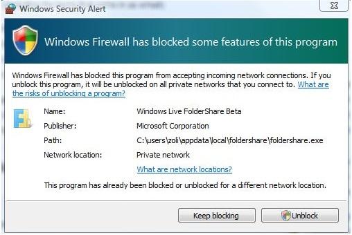 Internet-Sicherheitswarnungen