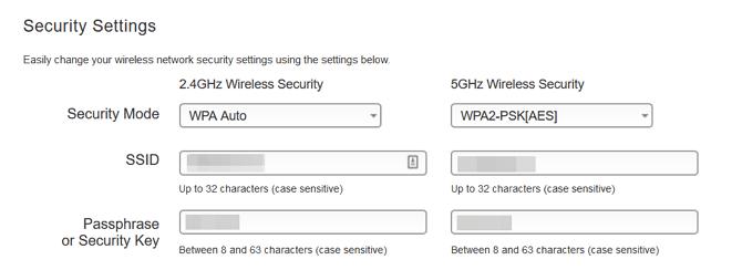 Router-Sicherheitseinstellungen