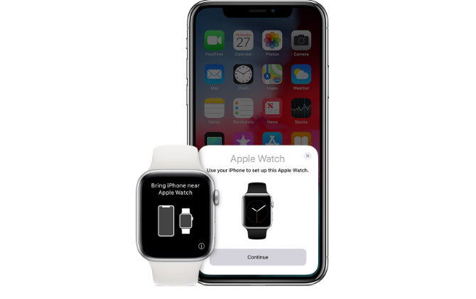 Appairage Apple Watch