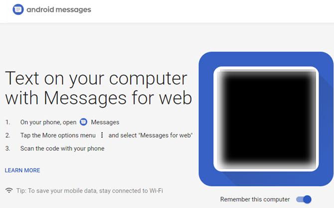 Android-Nachrichten-Web-Text