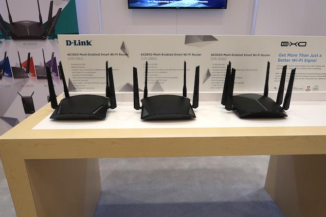 D-Link Exo Mesh CES 2019 Router