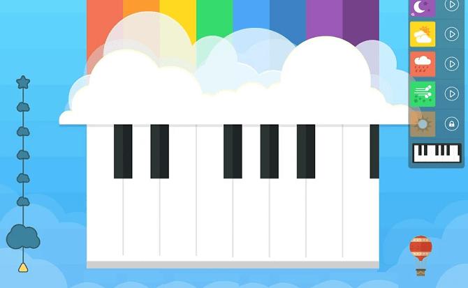 Application de musique facile pour les enfants