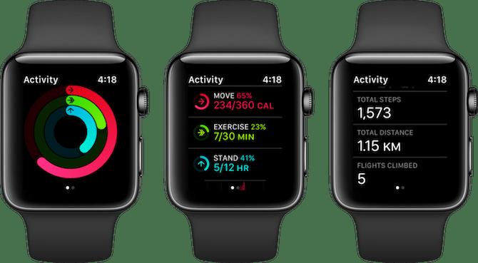 Application d'activité Apple Watch Fitness Apps