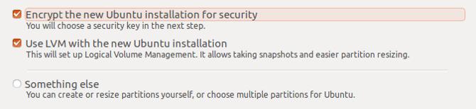 ubuntu encrypt install