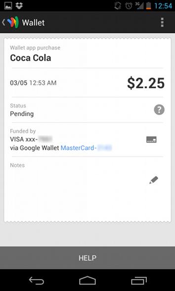 digitale Geldbörse App