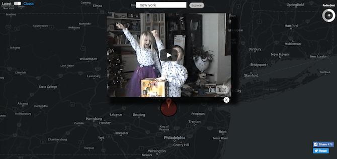 Youtube Map Explorer