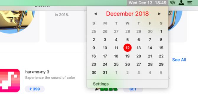 Cornercal-Menüleiste-Kalender-auf-Mac