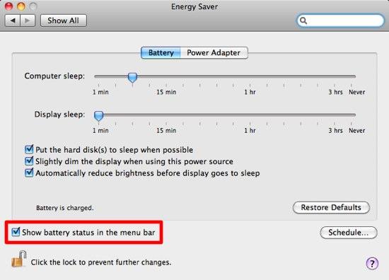 outil de surveillance de la batterie de macbook