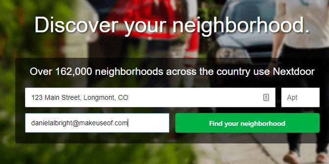 réseau social local à côté