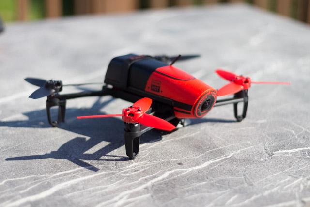 drone bebop et contrôleur ciel - aperçu bebop