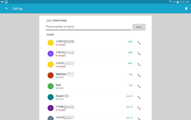 Comment envoyer et recevoir des messages texte sur une tablette Android