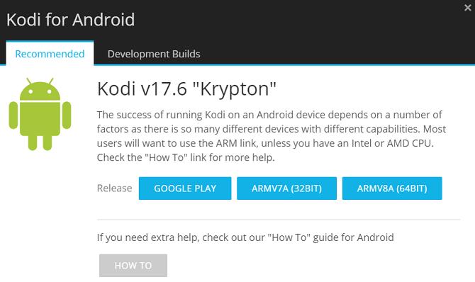 So aktualisieren Sie Kodi auf Android Kodi Android 670x398