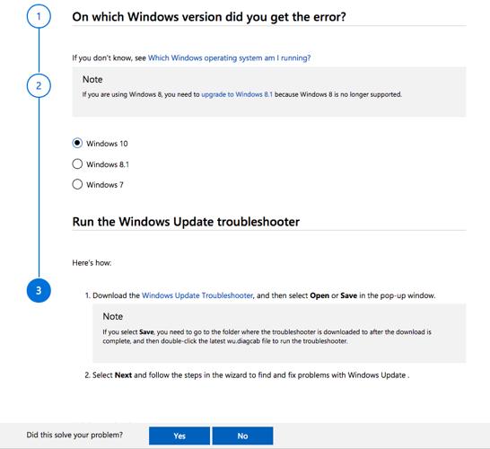 Beheben Sie Windows Update-Probleme