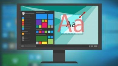 Photo of Comment changer la taille et la police du texte dans Windows 10