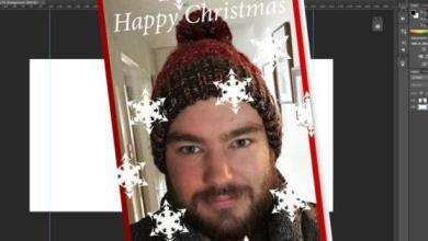 Photo of Comment faire votre propre carte de Noël dans Photoshop