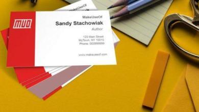 Photo of Comment créer des cartes de visite gratuites dans Microsoft Word avec des modèles