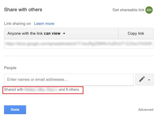 So sehen Sie, wer Zugriff auf Ihre Google Drive-Dateifreigabedateien hat e1524003037904