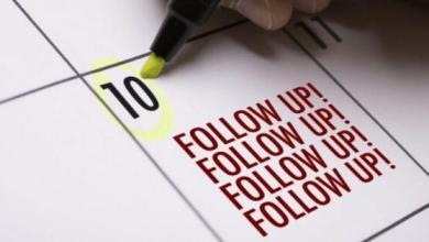 Photo of Comment réseauter comme un pro: faites le suivi et n'oubliez pas
