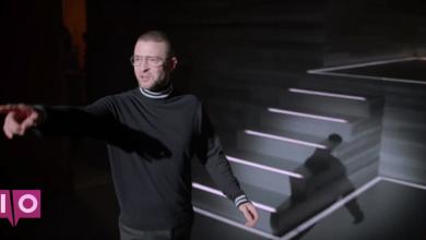 Photo of Justin Timberlake mène une conférence technique en 2028 dans la vidéo de Filthy