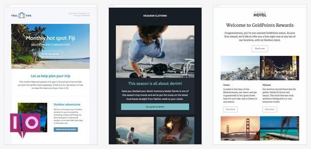Modèles de newsletter par e-mail Campaign Monitor