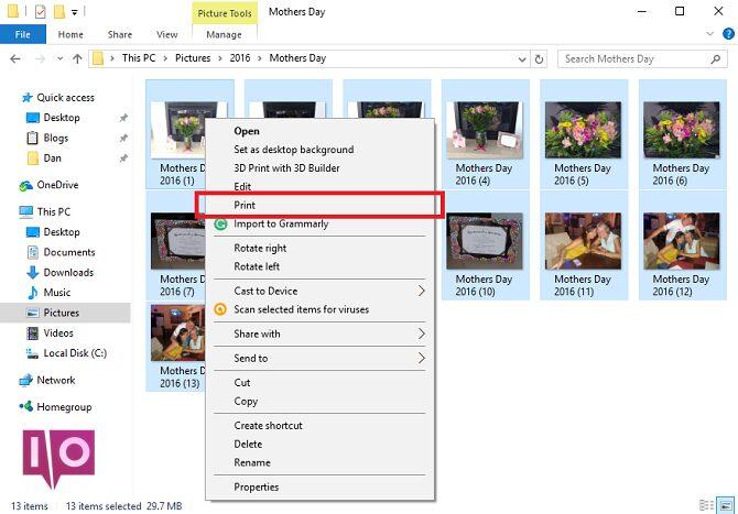 5 outils gratuits pour éditer les fenêtres de fichiers PDF imprimer des images au format pdf sélectionner imprimer 670x467