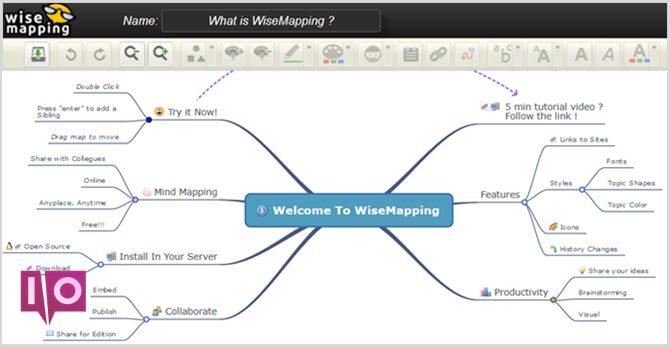 wisemapping main