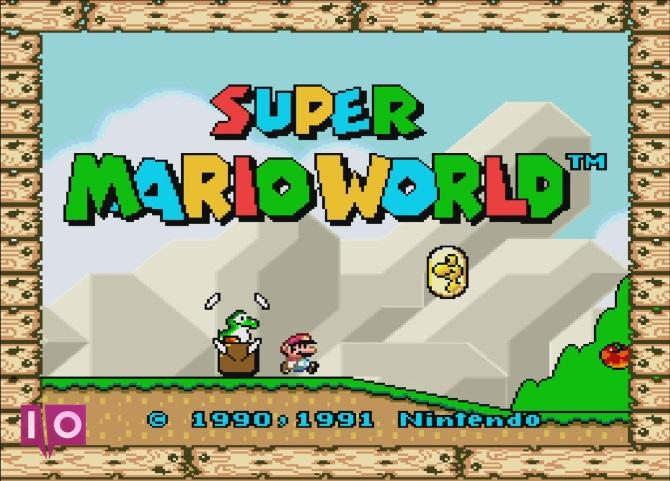 Nintendo Entertainment System Super Marioworld