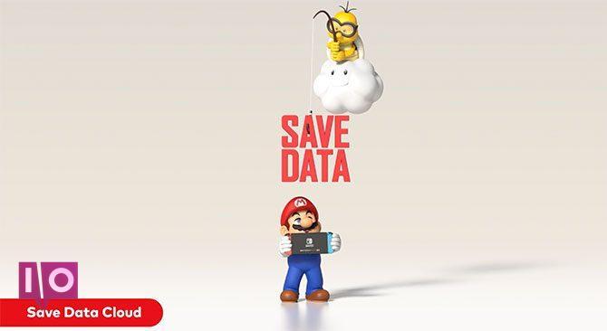 Sauvegarde sur le cloud en ligne sur Nintendo Switch