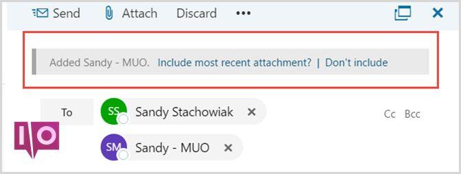 Nouvel Outlook.com - Pièces jointes récentes