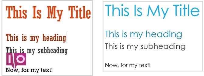Thèmes pour Word Compare