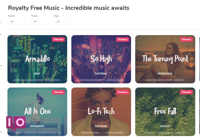 Recherche de musique HookSounds