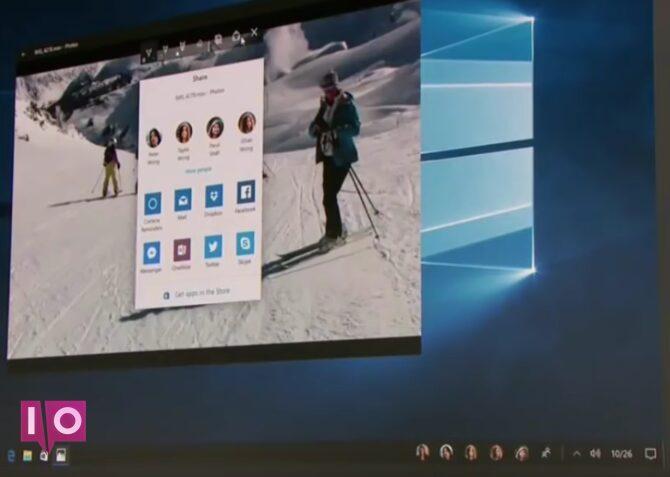 Windows 10 Creators Update People Inbox