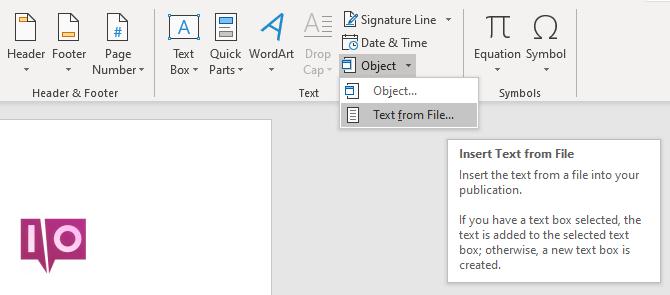 mot insérer du texte à partir d'un fichier