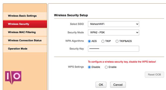 révéler le mot de passe wifi du routeur