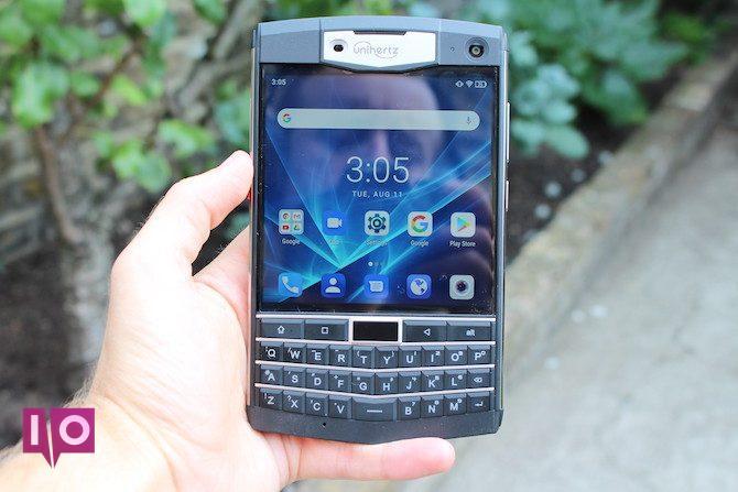 Smartphone Unihertz Titan