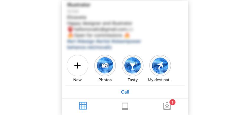 Comment obtenir des icônes pour les faits saillants d'Instagram