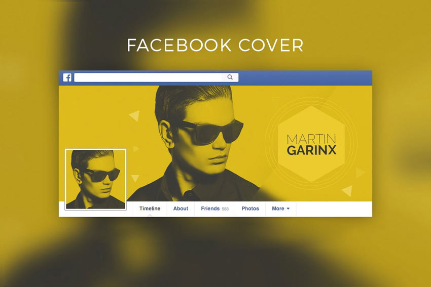 Couverture Facebook de DJ Music