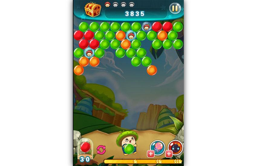 Gameplay Bubble Adventure
