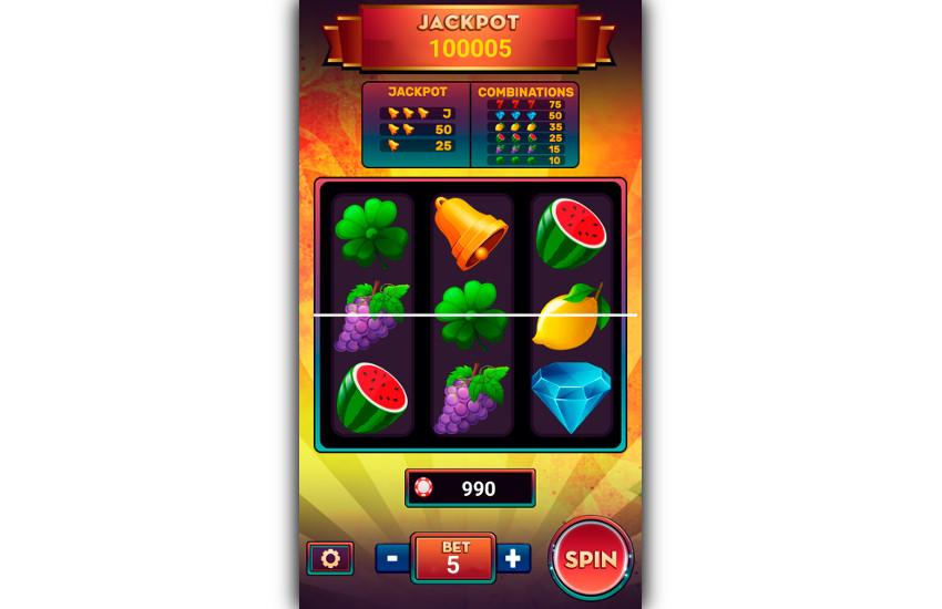 Gameplay de machine à sous de luxe
