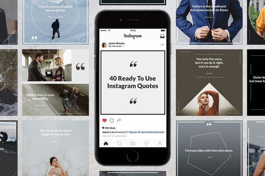 40 citations Instagram