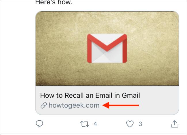 Appuyez et maintenez sur un lien que vous souhaitez ouvrir dans Chrome