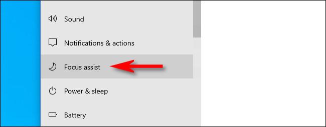 """Dans les paramètres Windows, cliquez sur """"Aide à la mise au point"""" dans la barre latérale Système."""