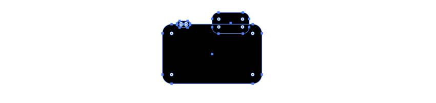 Ajouter des détails à l'icône de la caméra vectorielle
