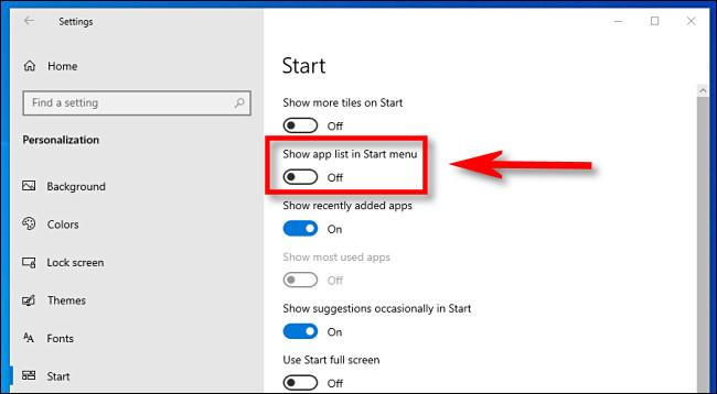 Klicken Sie in den Windows 10-Einstellungen auf die Schaltfläche